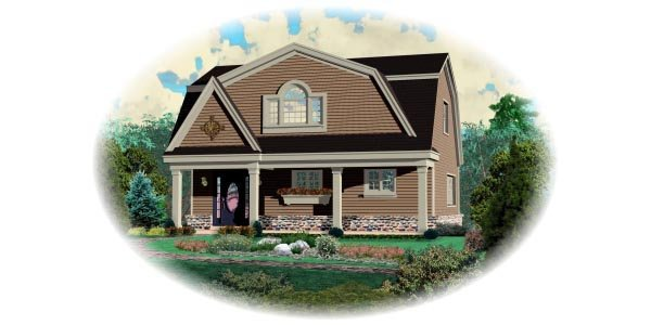 Country House Plan 48767 Elevation