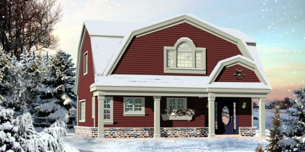 Country House Plan 48768 Elevation