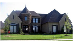 Country , European House Plan 48776 with 5 Beds, 5 Baths, 3 Car Garage Elevation