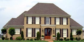 Traditional House Plan 48778 Elevation