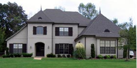 Country European House Plan 48781 Elevation