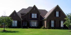European Traditional House Plan 48782 Elevation