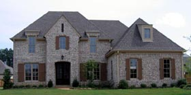 Country European House Plan 48783 Elevation
