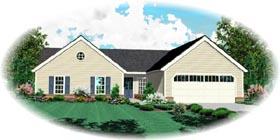 Victorian House Plan 48786 Elevation
