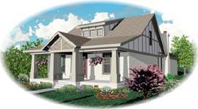 Craftsman House Plan 48790 Elevation