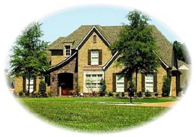European , Traditional House Plan 48791 with 4 Beds, 4 Baths, 2 Car Garage Elevation