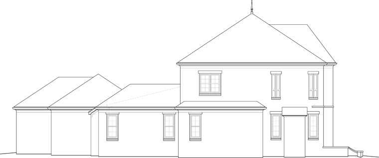 Country, European House Plan 48796 with 4 Beds, 4 Baths, 3 Car Garage Picture 1