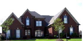 European Traditional House Plan 48799 Elevation