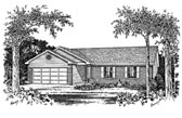Plan Number 49001 - 1277 Square Feet