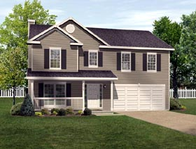 Traditional House Plan 49007 Elevation