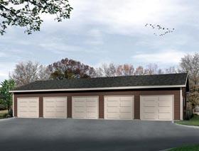 5 Car Garage Plans