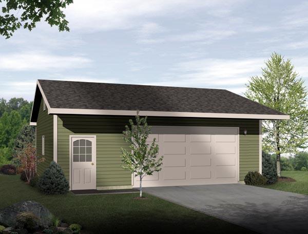Garage Plan 49017