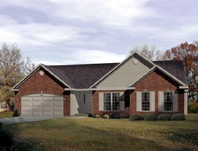 Traditional House Plan 49021 Elevation