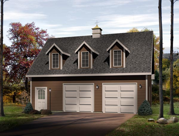 Farmhouse Garage Plan 49024 Elevation