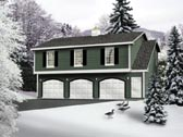 Plan Number 49029 - 1032 Square Feet
