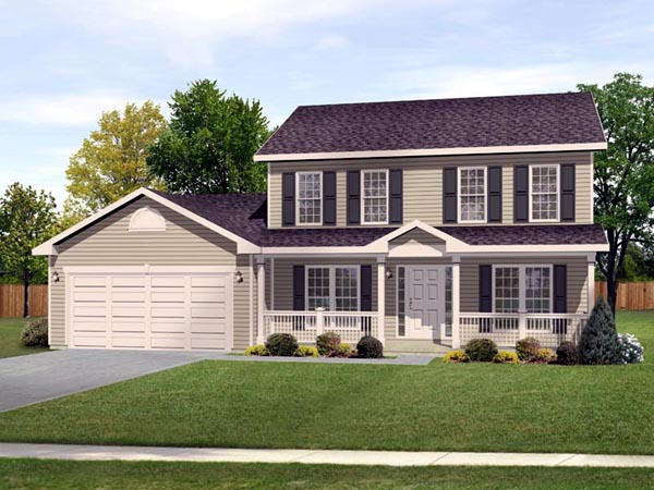 Traditional House Plan 49034 Elevation