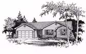 Plan Number 49064 - 1323 Square Feet
