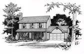 Plan Number 49065 - 1512 Square Feet