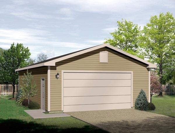 Garage Plan 49067 Elevation