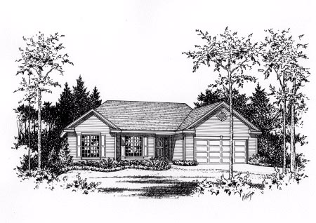 Traditional House Plan 49081 Elevation