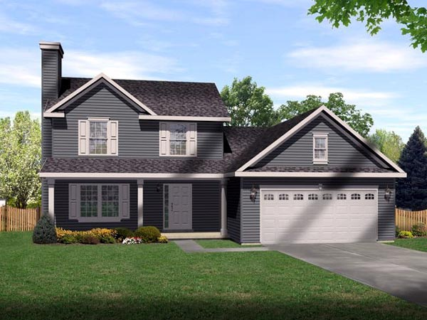 Country House Plan 49083 Elevation
