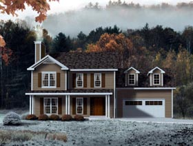 House Plan 49087 Elevation