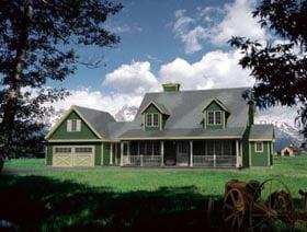 House Plan 49094 Elevation