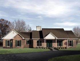 House Plan 49103 Elevation