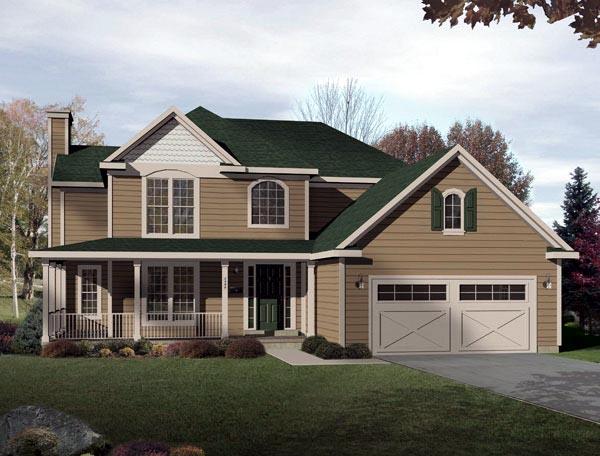 House Plan 49106 Elevation