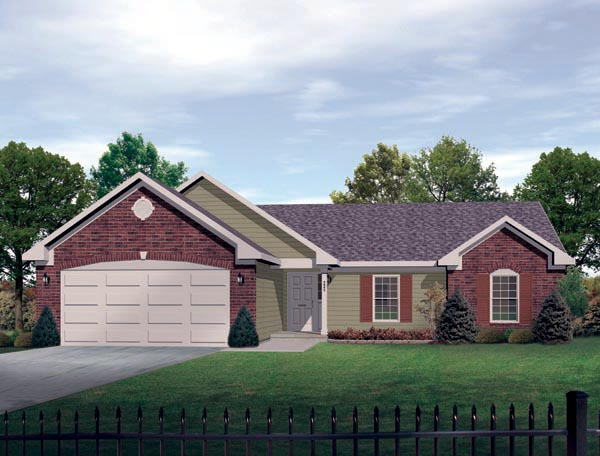 House Plan 49107 Elevation