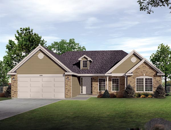 House Plan 49110 Elevation