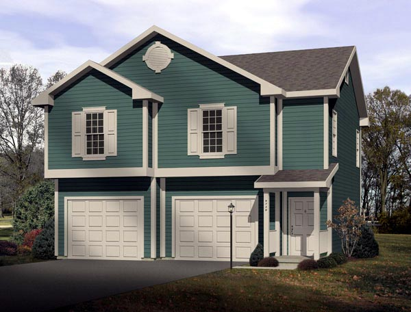 Traditional Garage Plan 49117 Elevation