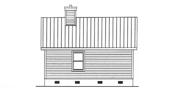 Country House Plan 49119 Rear Elevation