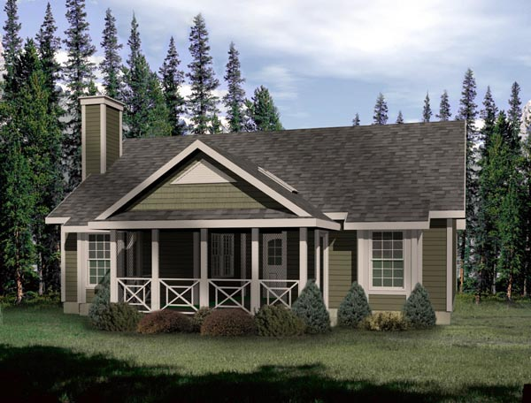 Country House Plan 49121 Elevation