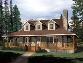 Country House Plan 49123 Elevation