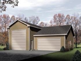 Traditional Garage Plan 49129 Elevation
