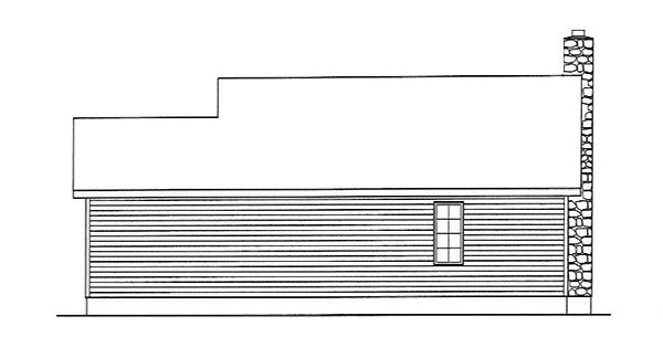 Country House Plan 49151 Rear Elevation