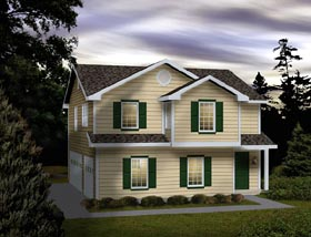 Garage Plan 49154 Elevation