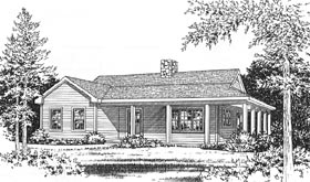 Plan Number 49156 - 990 Square Feet