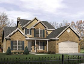 Traditional House Plan 49158 Elevation