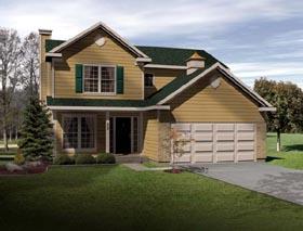Cape Cod House Plan 49160 Elevation