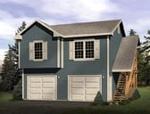 Plan Number 49161 - 701 Square Feet