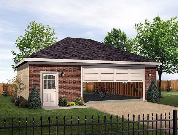 Garage Plan 49172