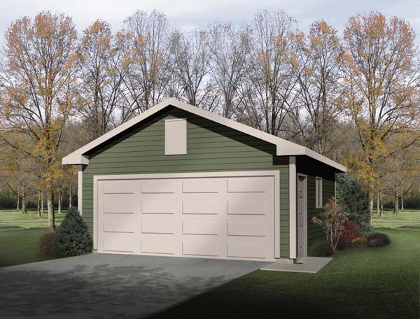 Garage Plan 49173 Elevation