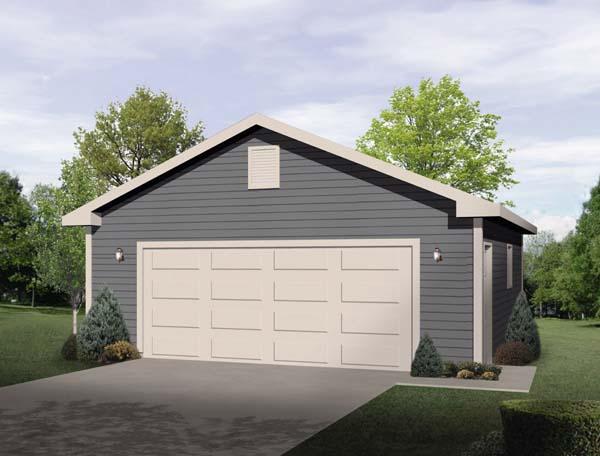 Garage Plan 49177