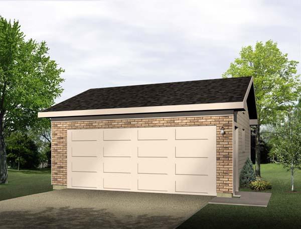 Garage Plan 49181