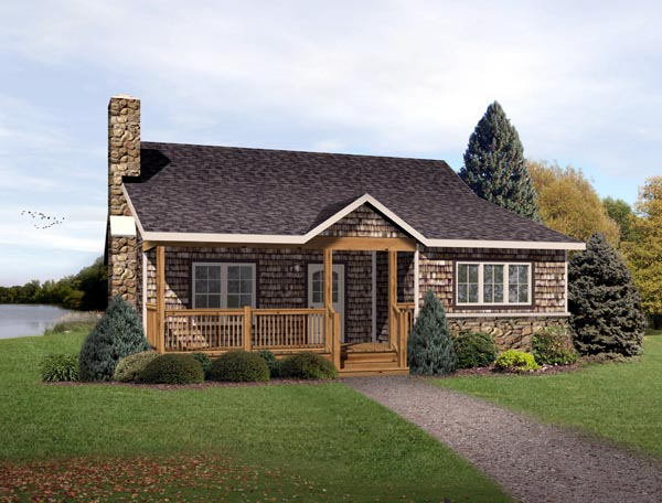 Country Ranch House Plan 49192 Elevation