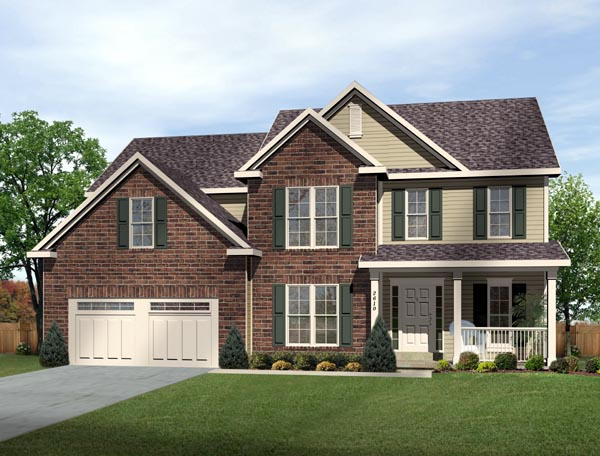 Traditional House Plan 49197 Elevation