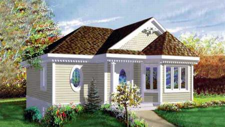 Craftsman House Plan 49204 Elevation