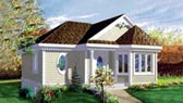 Plan Number 49204 - 890 Square Feet